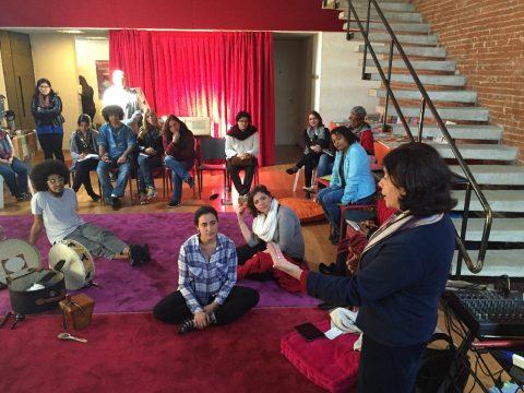 Oficina 'Diálogos Culturais nos Territórios da Educação' – 09/07/2016