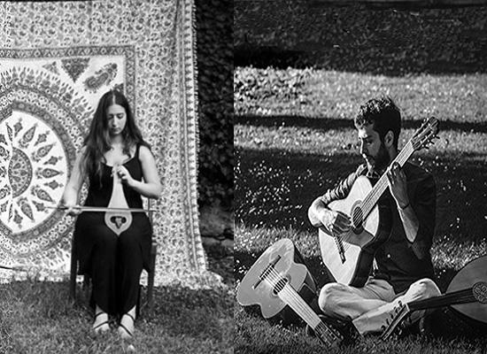 Música Mediterrânea em Duo com Chrysanthi Gkika (Grécia) e Juliano Abramovay