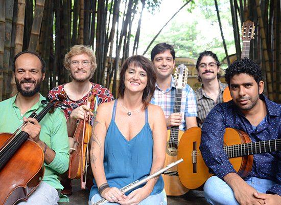 Show de Ricardo Dutra e Quinteto Aralume