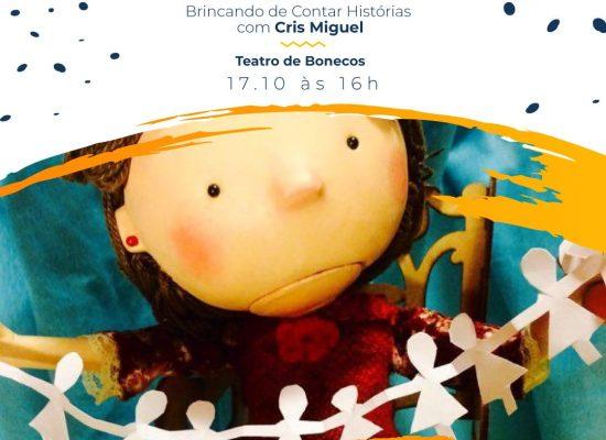 Nina – Teatro de Bonecos com Cris Miguel